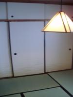 畳の青さがまぶしい、ゴロっとしたくなる和室の出来上がりです♪