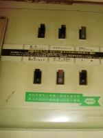電気回路も古いので、とっても少ない感じ。