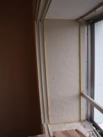 出窓の内側もキレイに仕上ます。