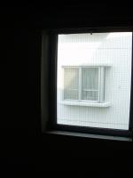 リフォーム前の開き窓。