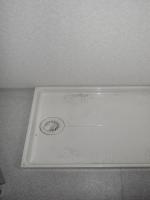 これがリフォーム前の、洗濯防水パン。