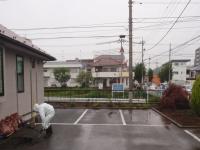撤去前の駐車スペース。
