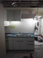 立って普通に使えるキッチンに、生まれ変わりました^^