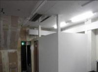 エアコンの冷房効果を残す為、上は通気用に開けておきました^^