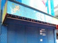 リフォーム前の外壁部分。