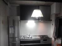 キッチンリフォーム完了後。