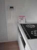 キッチンは小さなお子様にも安心な、IHに変更