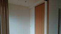 和室を洋室に変えました。
